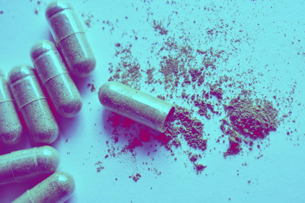 Cápsulas de cannabis