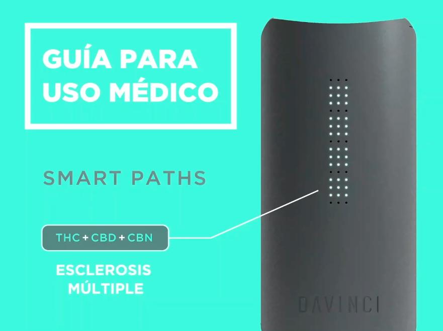 Guía de vaporización para uso médico con el Davinci IQ
